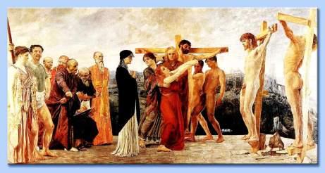 Crucifixion of Chrsit Max Klinger centrosangiorgio com