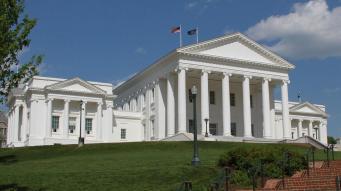 Virgina State Capitol interactive wttw com