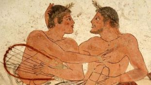 gay love Roman figures haaretz com