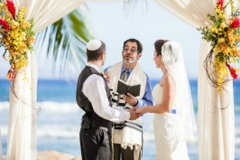 real-jewish-wedding-chuppah-ceremony themodernjewishwedding com