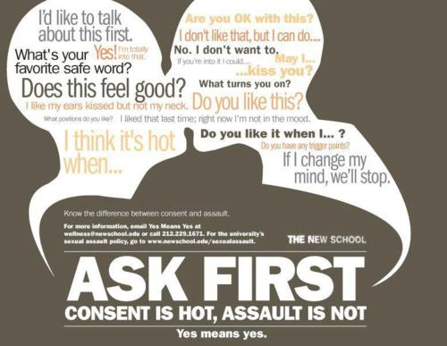 """""""Only Yes Means Yes"""": On Consent and CulturalInfluences"""