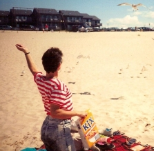 judy-feeding-the-gulls