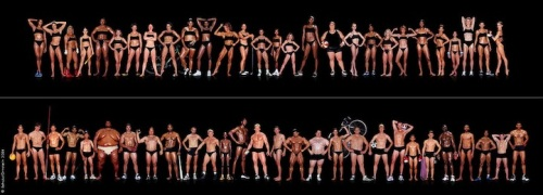 body types among Olympic athletes mymodernmet com