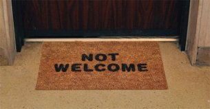 Not welcome mat